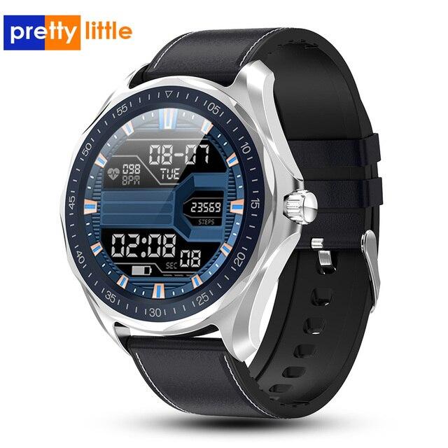 S09 akıllı saat IP68 su geçirmez erkek nabız monitörü kan basıncı spor izci GPS harita Android iOS için Smartwatch