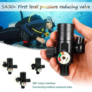 SMACO 3000PSI 1000mL Portable Diving Reserve Air Tank Oxygen Cylinder Respirator Adapter First Level Pressure Reducing Valve(China)