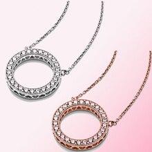 2019 100% 925 argent Sterling classique cœurs de collier femmes charme mode personnalité bijoux livraison gratuite en gros