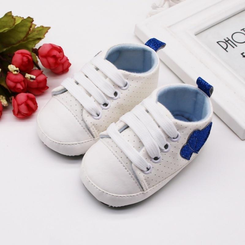 Newborn Infant Girl Baby Soft Sole Anti-slip Crib Walker Shoe Sport Casual Shoes