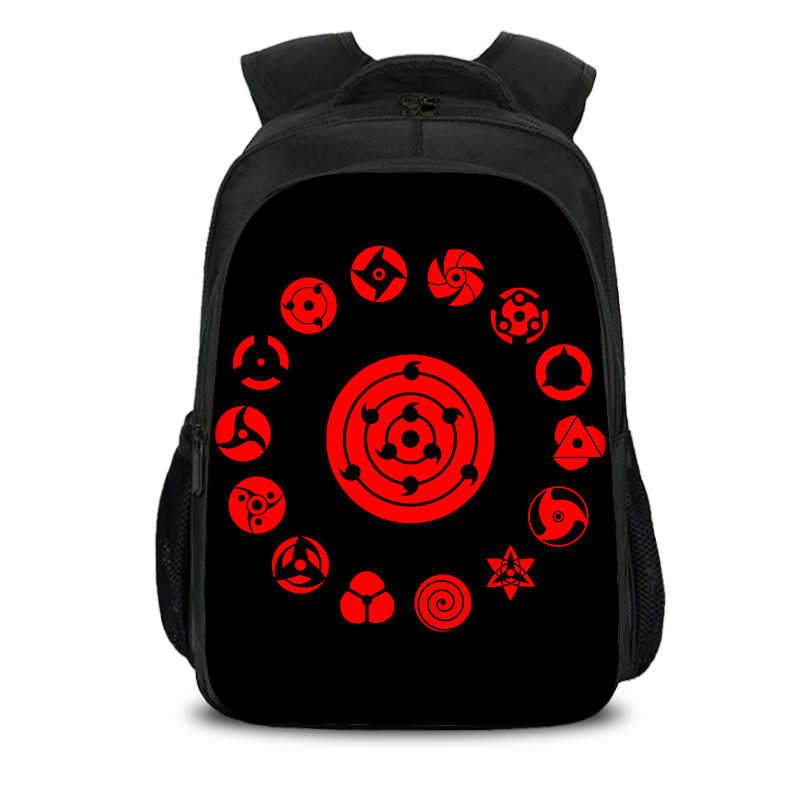 Naruto Naruto Uzumaki Ortopedi Ransel Sekolah Anak Sekolahnya untuk Anak Laki-laki Utama Lucu Tas Sekolah Anime Tas Printing Back Pack