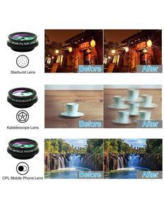 Image 4 - Tokohansun hd 7in1カメラ電話レンズ4 18kワイドマクロレンズ肖像スーパー魚眼レンズcplフィルターiphone 7 8サムスンのスマートフォン