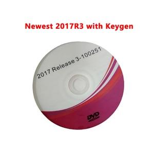 Image 1 - 2021 NEUE Ankunft 2017R3 mit KEYGEN Software Aktivator Vd ds150e Cdp 16R0 15R3 Cd Dvd Unterstützung 2017 Modelle Autos Lkw für Delphis