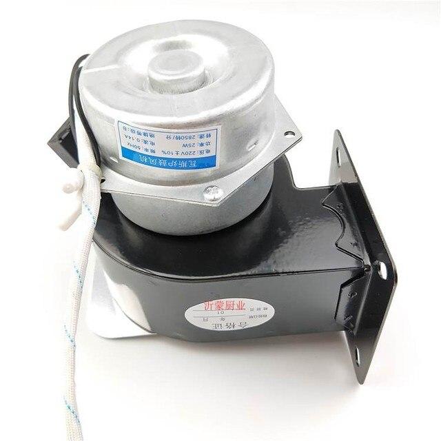 Spezielle gebläse für gas ofen WGFJ-G006 neue echtem gas herd gebläse standard allgemeine motor spannung 220V 25W 2850 rpm