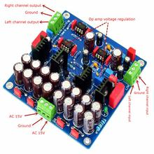 NE5532 M4 1000UF/25V Class A Power Supply Fever Preamp Finished Board YJ00403 assembled ls9d tube power supply finished board bile before the class universal power supply board