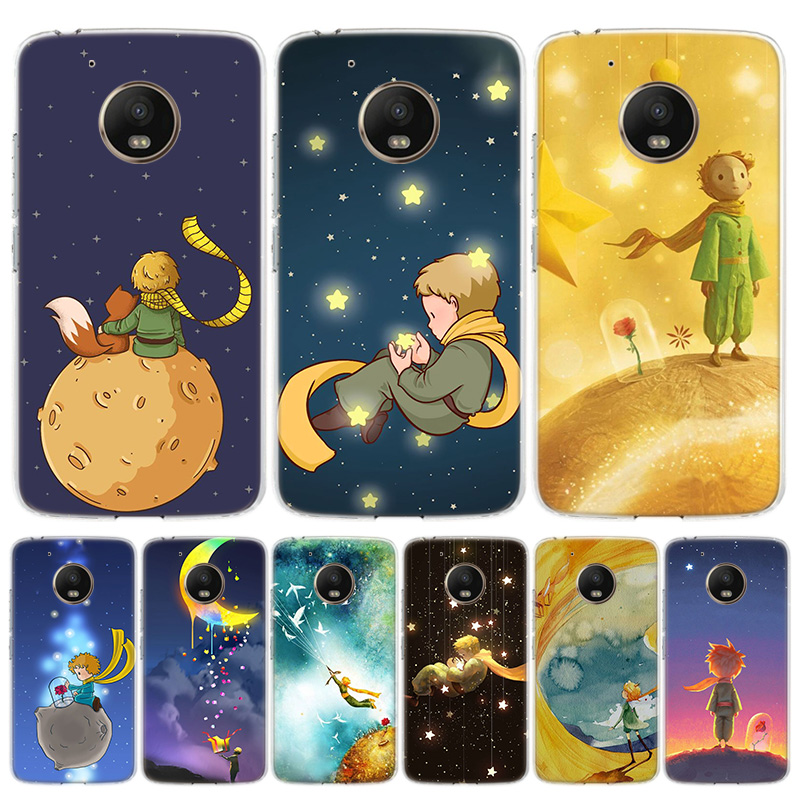 The Little Prince Cover Phone Case For Motorola Moto G8 G7 G6 G5S G5 E6 E5 E4 Plus G4 Play EU One Action X4 Pattern Coque