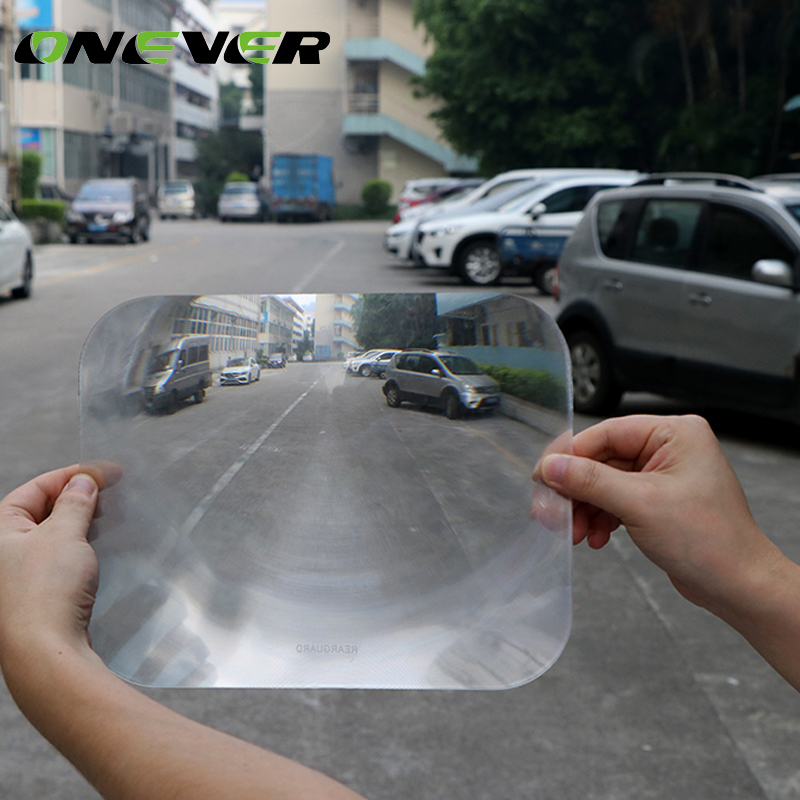 New Wide Angle Rear Window Fresnel Lens Reversing Parking For Home Car Auto 6A
