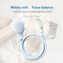 1 Pcs Multifunktions Pet Produkte Kunststoff Waschen Duschen Pet Waschen Haar Spray Kopf Katze Hund Bad Dusche Weiß Tap Bad spritzen