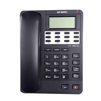 Inglês telefone fixo casa telefone escritório do hotel desktop telefone com fio KX-882 display lcd caller id despertador telefone