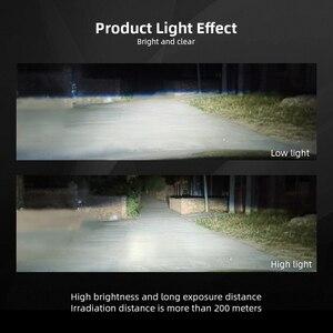 Image 3 - CROSSFOX 2x Tự Động H11 Sương Mù Led H8 H9 H7 H1 9005 HB3 9006 HB4 H4 LED Đèn Xe Ô Tô 12V 6000K 8000LM Bóng Đèn Pha Phụ Kiện
