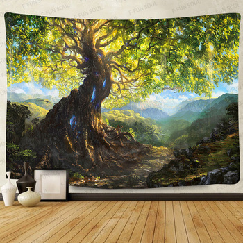 Simsant Psychedelic Shrooms Tapestry Colorful Abstract Trippy Tapestry Wall Hanging Tapestries for Home Dorm Fantasy Decor 46