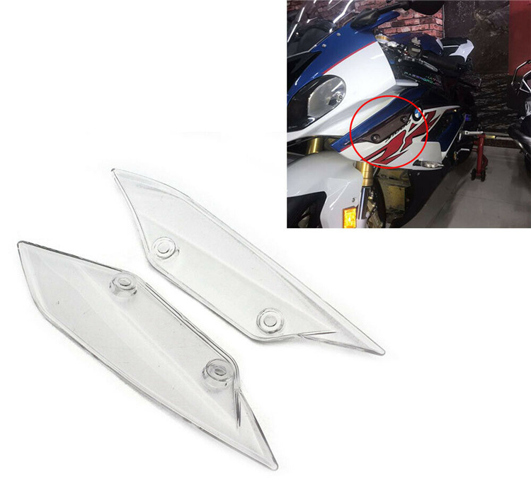 Front Spoiler Winglets Fairing brand new For BMW S1000RR 2015 - 2018 Clear image