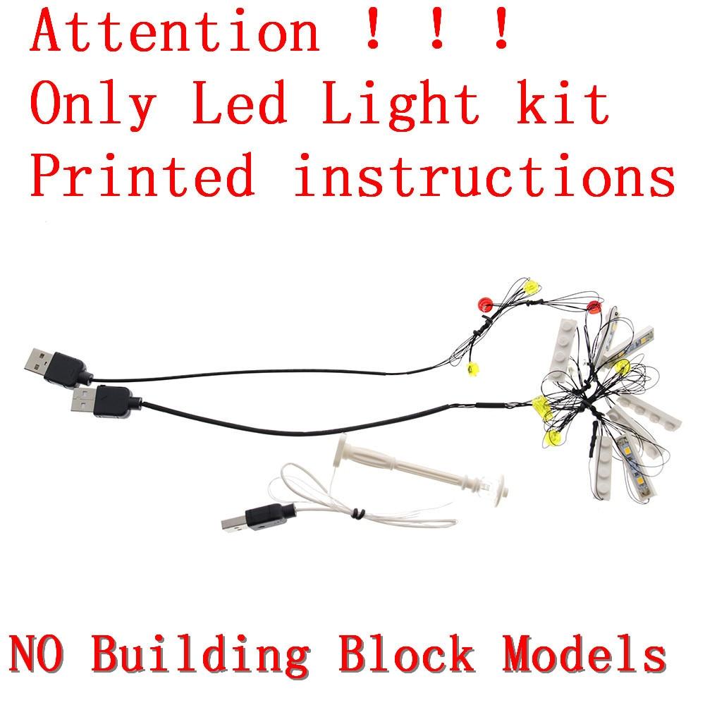 Image 2 - MTELE Luce Kit SOLO Per Creator Compatibile Con Lego  10182/10224/10211/10260/10243/10246  /10218/71040/10251/10264/10255/10232-in Blocchi da Giocattoli e hobby su