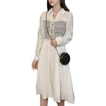 Autumn dress Korean OLN new arrival vestidos wholesale Small fragrance French female slim slimming