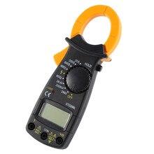 DT-3266L цифровой Ампер клещи мультиметр токовые клещи Вольтметр Амперметр 600A AC/DC ток Ома тестер напряжения