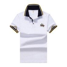 Cotton Shirts Supima Plus-Size Short-Sleeve Casual Men's Super-Soft High-Quality Brand