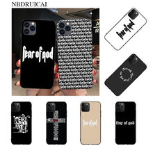NBDRUICAI Hot American trend street brand fear god Phone Case cover Shell for iPhone 11 pro XS MAX 8 7 6 6S Plus X 5S SE XR case(China)