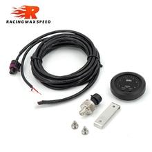 Universal Electronic fuel pressure gauge with 1/8 npt sensor oil pressure red display digital 0-15psi FPM01