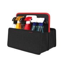 Car trunk storage box car portable folding Oxford cloth built-in simple stor