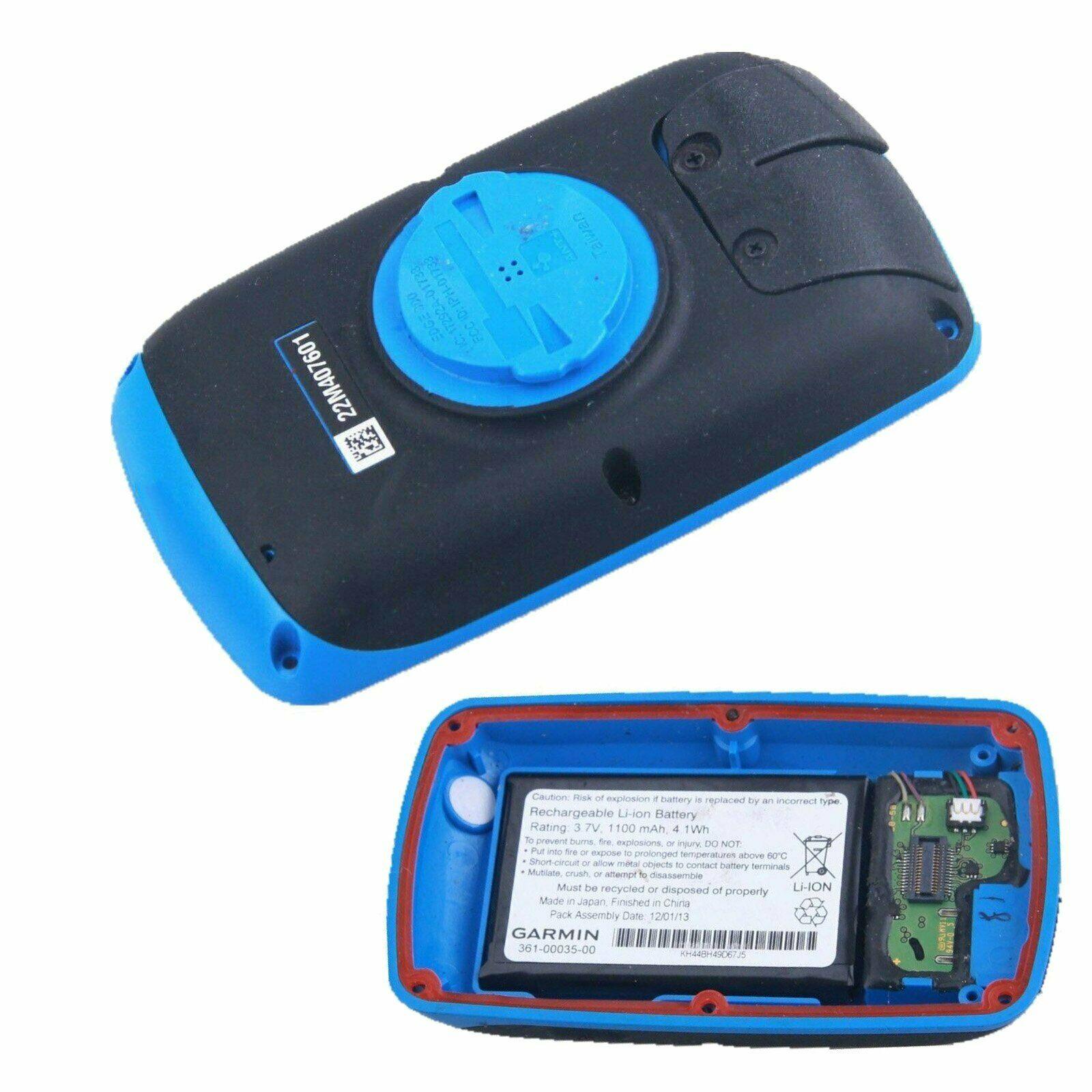 Garmin EDGE800 Back Case Bottom Cover with Battery Black//blue+Handlebar Mount