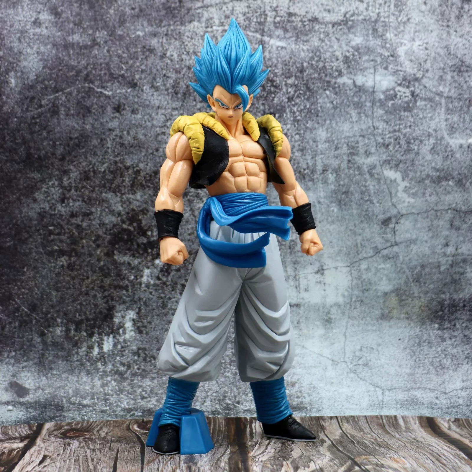 Anime 32cm Dragon Ball Super GROS Grandista ROS Gogeta Blue hair PVC Action Figure Collection Model Toys Gift