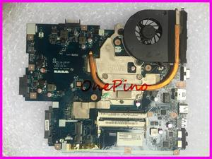 LA-5912P NEW75+heatsink+CPU fit for Gateway NV53A fit for 5551G 5551 Laptop Motherboard instead LA-5911P 5552 5552G motherboard(China)