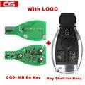 Оригинальный ключ CGDI MB CG для всех Benz FBS3 315 МГц/433 м, работающий с программатором CGDI MB и получающий 1 Бесплатный жетон для CGDI MB