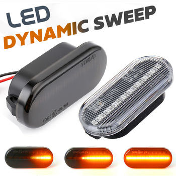 LED Dynamic Fender Side Marker Light Turn Signal Lamp For VW Golf 4 3 Passat Polo Caddy Amarok Fox Beetle Lupo Sharan Bora T5 Up t lupo fantasias for 3 viols