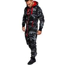 Mono de uniforme militar para hombre, traje de forro Polar con capucha para exteriores, ropa táctica, trajes de personalidad con estampado de camuflaje