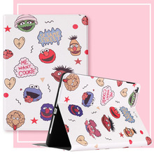 For iPad 10.2 Case Cartoon People PU Silicone Soft Back Tablet Cover For iPad Mini 3 4 5 Air 1 2 Pro 10.5 Flip smart stand Case