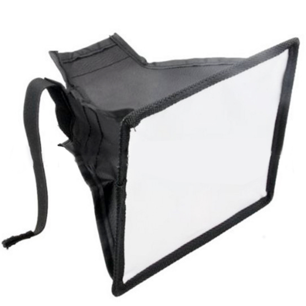 Photography Universal Flash Light Flash Diffuser Professional Reflector Camera Softbox Speedlight Accessories With Storage Pouch