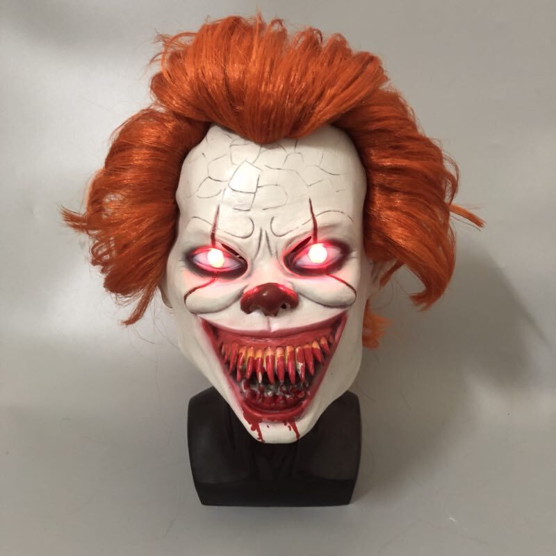 LED-It-Chapter-2-Pennywise-Clown-Cosplay-Mask-Flash-Scary-Stephen-King-Latex-Halloween-Masks-Bloody (2)