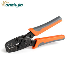 IWS-1424A Wire Clamp Open Barrel Terminal Crimper Plier Tool for Molex Style DELPHI AMP TYCO Terminals 24-14 AWG IWISS pliers pc24 14b pneumatic crimping tools of a tabletop unit and a foot operat for amp te molex cable wire ferrules terminal 24 14 awg