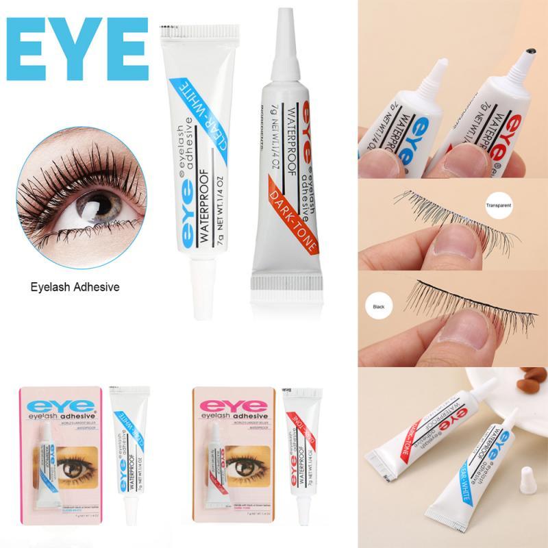 Strong Adhesive Transparent Eyelash Glue For False Eyelashes Clear/Dark Waterproof Eyelash Glue Lash Extension Makeup Tool TSLM1