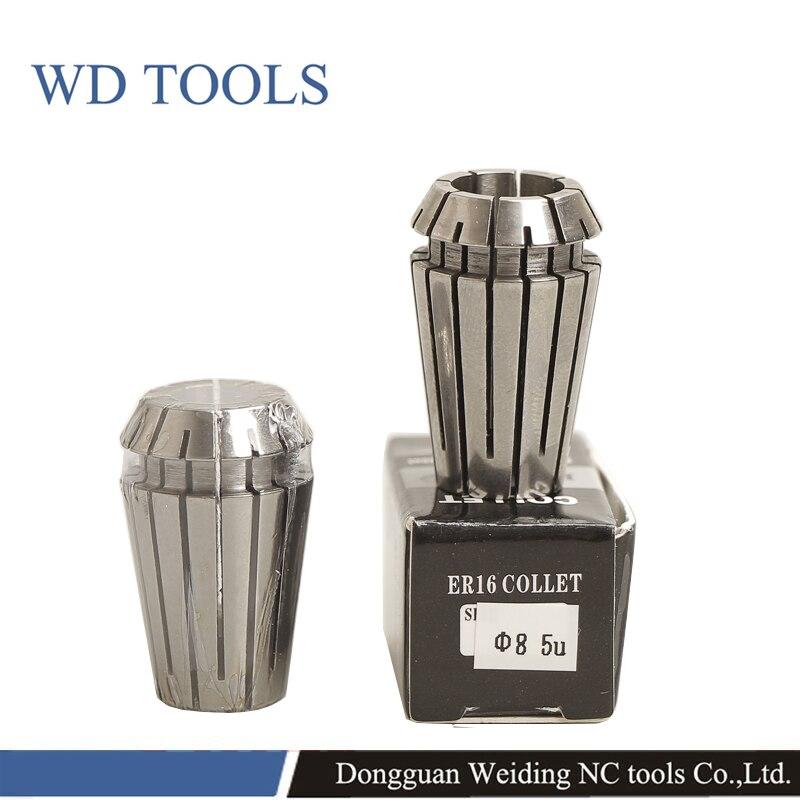 ER Spring Collet Chuck For CNC Milling Tool Holder ER Collect 1pcs Precision 0.005mm Or 0.008mm ER08   ER11 ER16 ER20 ER25 ER32