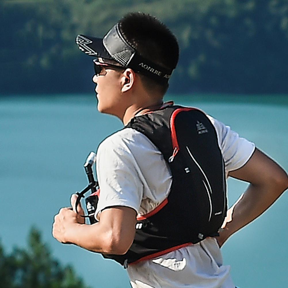 Kuulee poche Portable sac à dos d'hydratation Portable sac à dos à eau sac à vessie pour la course à pied randonnée vélo sac à dos