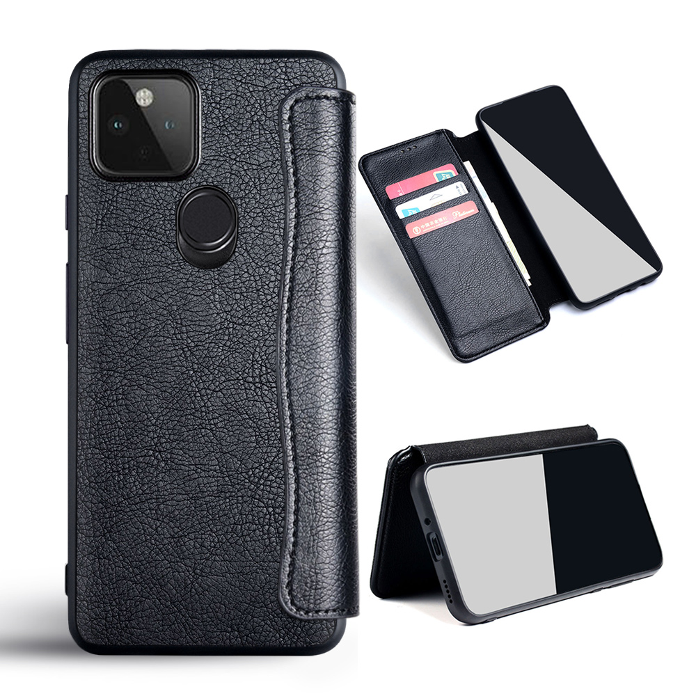 Case For Google Pixel 4A Google Pixel 5 5G 4 XL Flip Cover PU Leather No Magnet For Google Pixel 4A 5 5G 4 XL Case Funda Coque