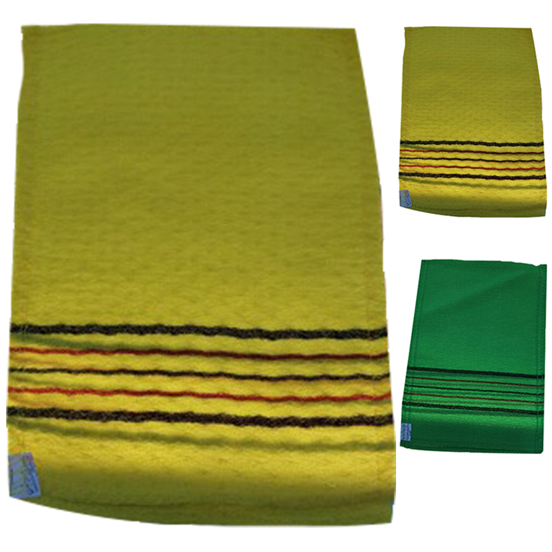 New Korean Italy Exfoliating Body-Scrub Towel Glove 3Pcs//5Pcs Sephar Quickly Dry