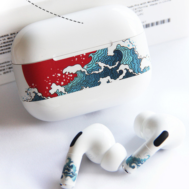 Camouflage Color Dust Guard for AirPods Pro 2