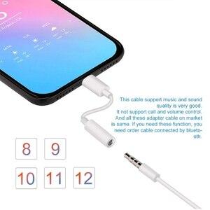 Image 2 - Para relâmpago para 3.5mm adaptadores fone de ouvido jack cabo para iphone x 7 8 plus 3.5mm áudio usb conversor de fone de ouvido adaptador de telefone