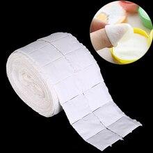 Полотенце бумажные ватные диски рулонные инструменты для маникюра 500 шт белые салфетки для чистки ногтей бумага s Лак акриловый гель для удаления