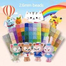 Iron-Beads Perler Handmade Mini PUPUKOU 72colours/Box 24-48 Gift DIY High-Quality