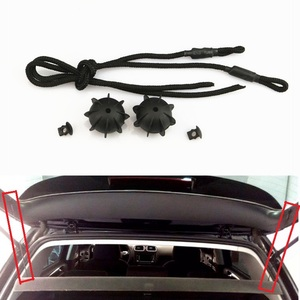 Car Accessories Rear Hatchback Parcel Shelf String Holding Strap Cord Trunk Lid Rope Small Ball For Golf 5 MK5 6 MK6 7 Rabbit