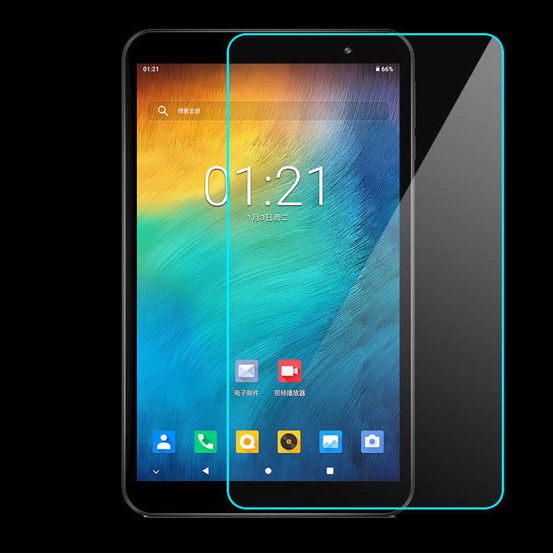 "Gehärtetem Glas Film Screen Protector für Teclast P80X 4G Tablet Android 9,0 SC9863A Octa Core 8 ""zoll tablet"