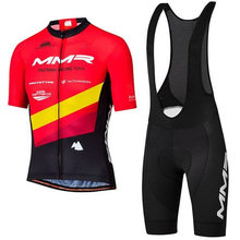 MMR New cycling jersey short sleeve suit bib shorts maillot ciclismo hombre pro team cycling mtb summer Unisex bicycle clothing