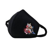 Anime  High School D�D Mouth Face Mask Dustproof Breathable Facial Protective Cute Unisex Cartoon Cover Masks