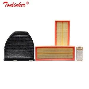 Image 1 - Luchtfilter + Cabine Filter + Olie Filter 3Pcs Voor Mercedes GLK CLASS (X204) 2008 2011 GLK280 GLK300 GLK350 4 Matic Model Filter Set