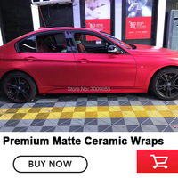Newest products dark red Ceramic vinyl wrap covering film car Air Release Quality assurance 5 years
