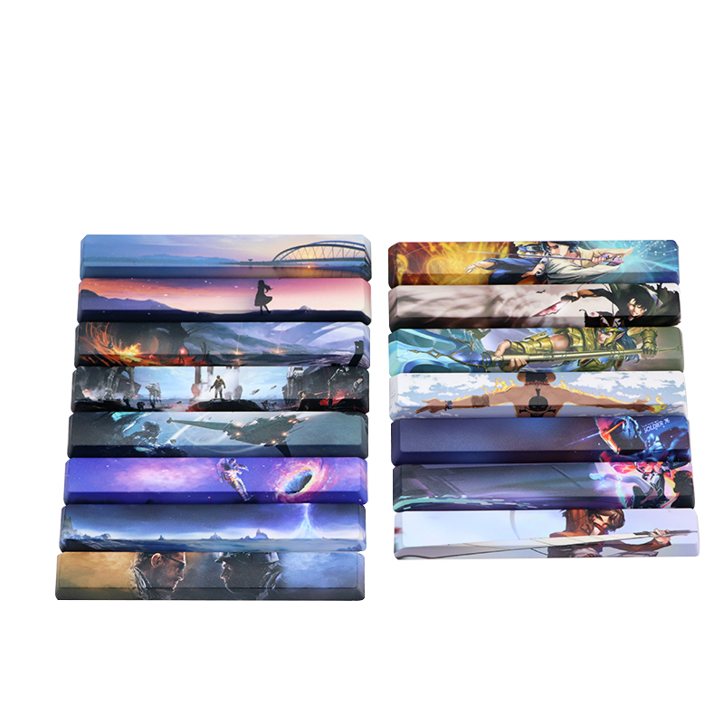 Dye-subbed Space Bar 6.25U OEM Profile Pbt Keycap Diy Space