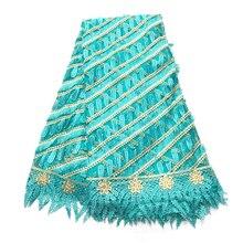 Африканская кружевная ткань для свадебной вышивки швейцарская вуаль кружева нигерийский вышитый бисером тюль французские кружевные ткани с камнями Стразы